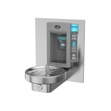 Non Refrigerated, Radii Fountain w/ Integrated Electronic Bottle Filler
