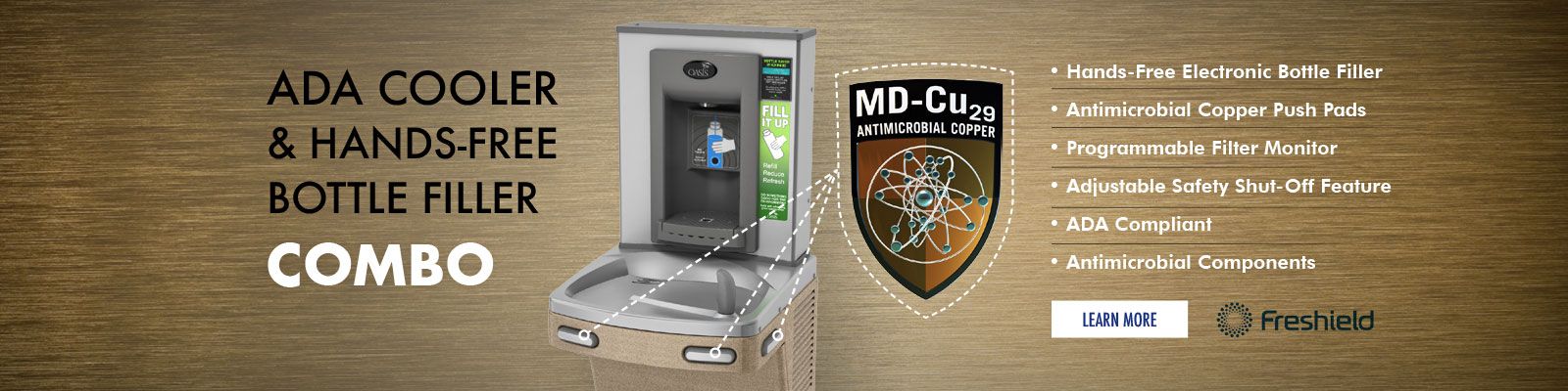 OASIS Manufactures Drinking Fountains | Bottled Water