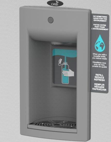 Mechanical Bottle Filler